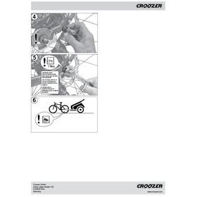 Croozer Click & Crooz - 2 bagues FG 10,5 argent